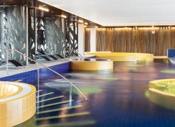 Sauna and pools
