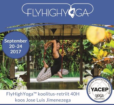 FlyHigh Yoga™ koolitus-retriit Pärnus